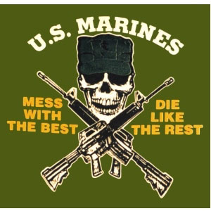 Marine Scout Sniper Emblem http://laughlovewrite.wordpress.com/2010/05/31/once-a-marine-always-a-marine/